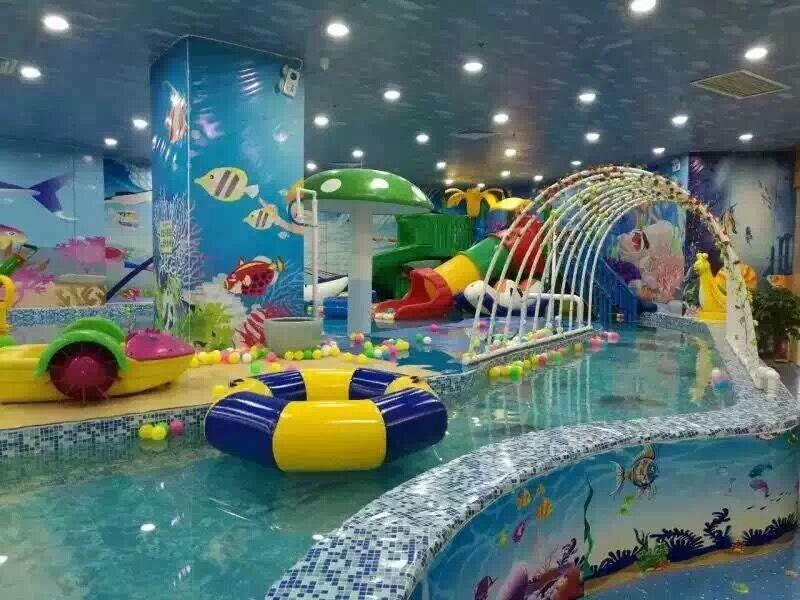 开一个大型室内儿童水上游乐园设备要投入多少资金